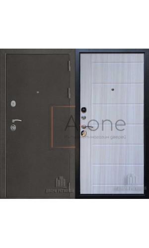 Входная дверь Галеон Двери Регионов внутреняя панель пвх сандал светлый