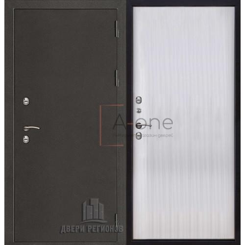 Термо 3 входная уличная дверь с терморазрывом с панелью венге светлый