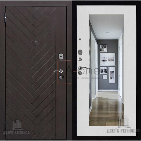 Дверь входная Вектор Лофт Z Зеркало Maxi