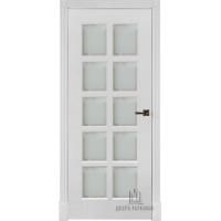 Ульяновские двери Калифорния полотно остекленное цвет белый  изготовление на заказ 700*2100