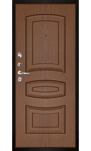 Панель для входной двери пвх Лаура орех темный
