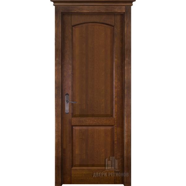 Белорусские двери из массива ольхи Фоборг античный орех глухое