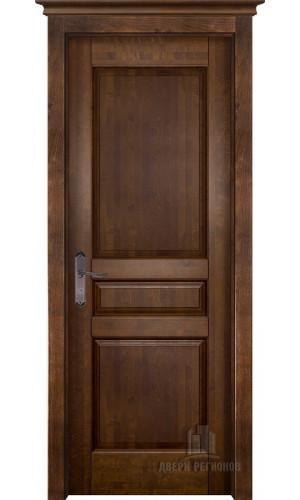 Белорусские двери из массива ольхи Гармония античный орех глухое