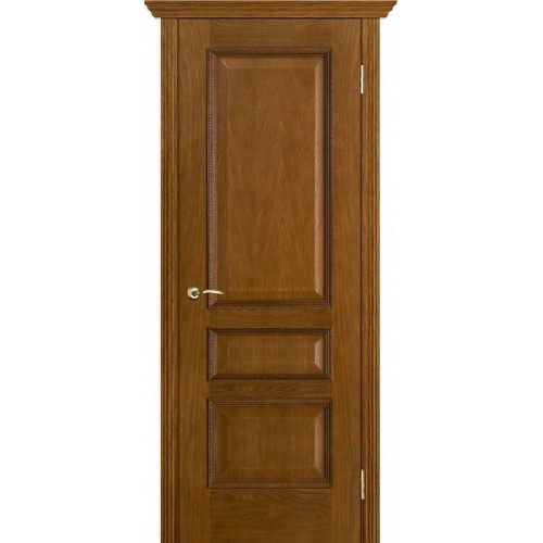 Белорусские двери PORTE VISTА Вена цвет античный дуб тон 14 глухое