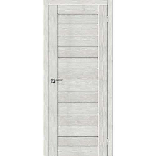 Двери межкомнатные экошпон Браво Порта 21 Bianco Veralinga