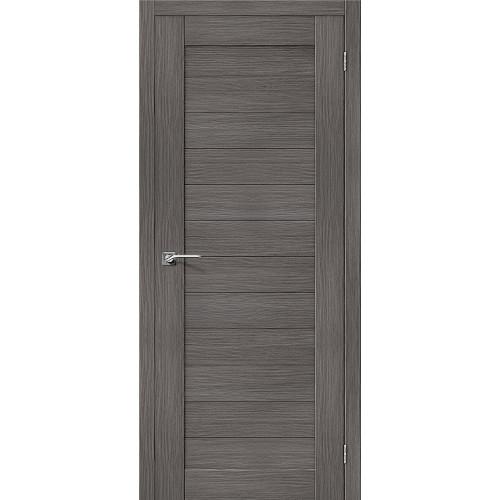 Двери межкомнатные экошпон Браво Порта 21 Grey Veralinga