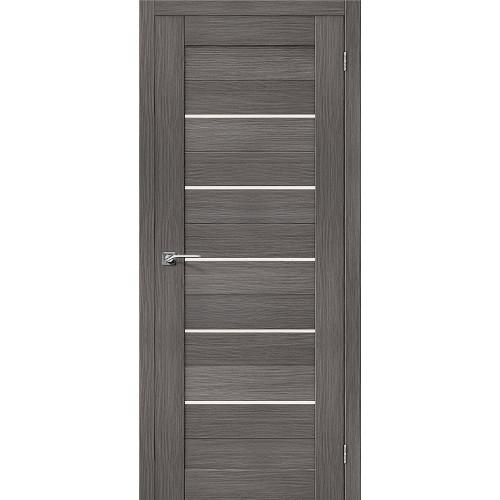 Двери межкомнатные экошпон Браво Порта 22 Grey Veralinga