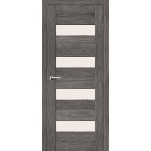 Двери межкомнатные экошпон Браво Порта 23 Grey Veralinga