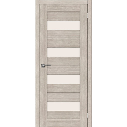 Двери межкомнатные экошпон Браво Порта 23 Cappuccino Veralinga