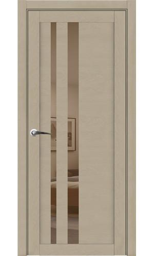 Дверь экошпон UniLine 30008 SoftTouch Кремовый