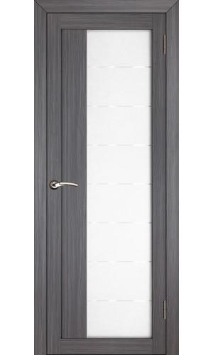 Двери межкомнатные экошпон Uberture Light 2112 цвет графит велюр