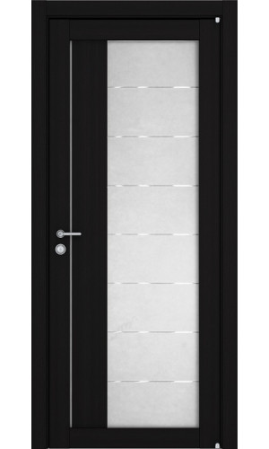 Двери межкомнатные экошпон Uberture Light 2112 цвет шоко велюр