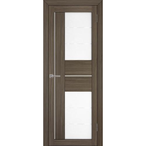 Двери межкомнатные экошпон Uberture Light 2114 цвет графит велюр
