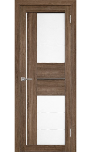 Двери межкомнатные экошпон Uberture Light 2114 цвет серый велюр