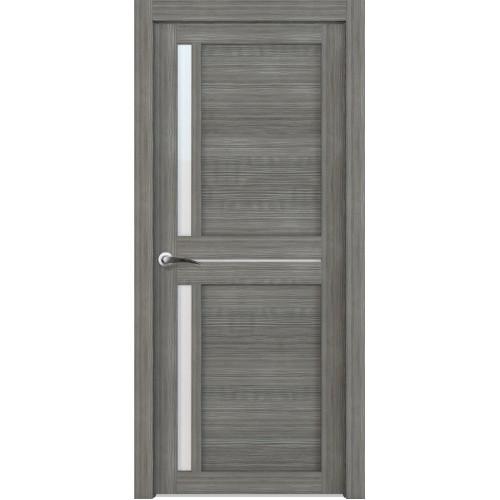 Двери межкомнатные экошпон Uberture Light 2121 цвет графит велюр
