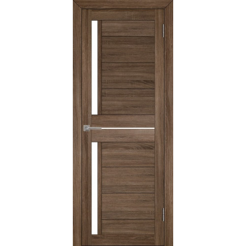 Двери межкомнатные экошпон Uberture Light 2121 цвет серый велюр
