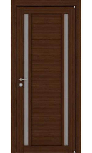 Двери межкомнатные экошпон Uberture Light 2122 цвет орех вельвет