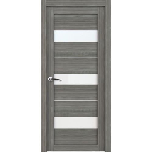 Двери межкомнатные экошпон Uberture Light 2126 цвет графит велюр
