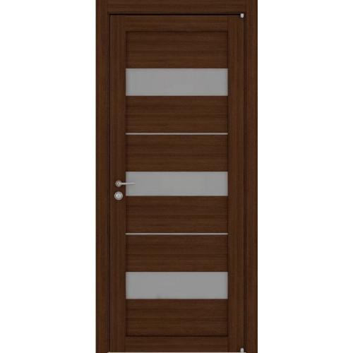 Двери межкомнатные экошпон Uberture Light 2126 цвет орех вельвет