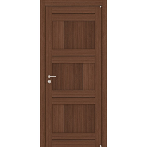 Двери межкомнатные экошпон Uberture Light 2180 цвет орех вельвет