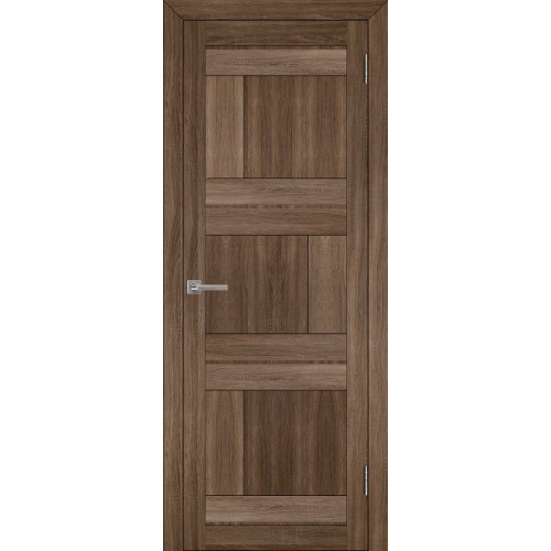 Двери межкомнатные экошпон Uberture Light 2180 цвет серый велюр