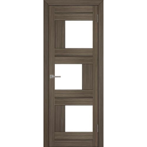 Двери межкомнатные экошпон Uberture Light 2181 цвет графит велюр
