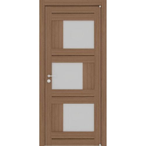 Двери межкомнатные экошпон Uberture Light 2181 цвет орех вельвет