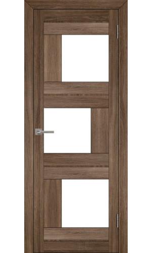 Двери межкомнатные экошпон Uberture Light 2181 цвет серый велюр