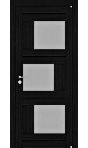 Двери межкомнатные экошпон Uberture Light 2181 цвет шоко велюр