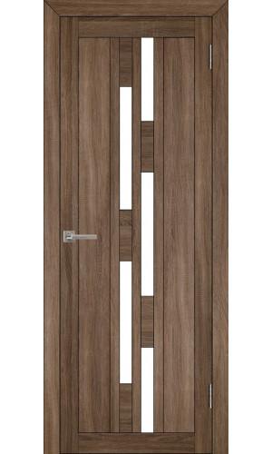 Двери межкомнатные экошпон Light 2198 цвет серый велюр