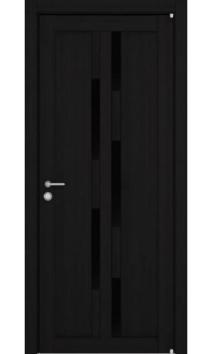 Двери межкомнатные экошпон Light 2198 цвет шоко велюр