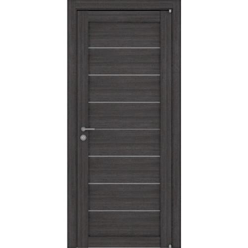 Двери межкомнатные экошпон Uberture Light 2125 цвет графит велюр
