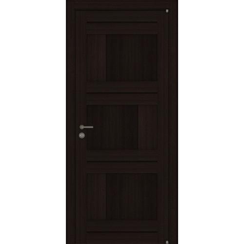 Двери межкомнатные экошпон Uberture Light 2180 цвет шоко велюр