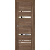 Двери межкомнатные экошпон Uberture Uniline 30027 цвет серый велюр