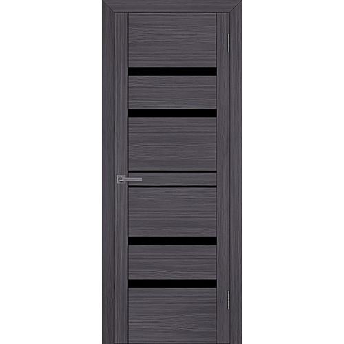 Двери межкомнатные экошпон Uberture Uniline 30030 цвет графит велюр