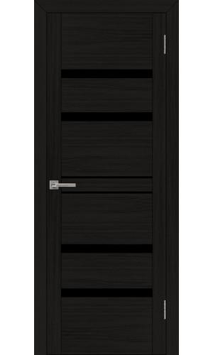 Двери межкомнатные экошпон Uberture Uniline 30030 цвет шоко велюр