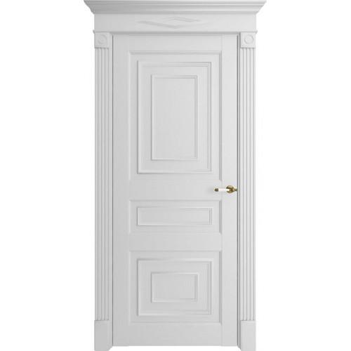Дверь экошпон Florence 62001 Белый Серена Глухая