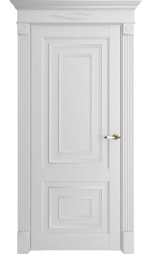 Дверь экошпон Florence 62002 Белый Серена Глухая