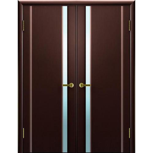 Двустворчатые распашные двери Техно 1 венге