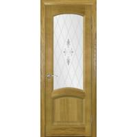 Ульяновские двери Regidoors Лаура шпон натуральный, остекленное, дуб Capri