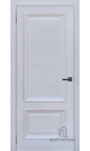 Неаполь 1 дверь межкомнатная серый шелк Ral 7047 глухая