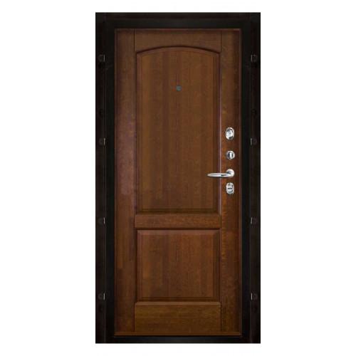 Панель для входной двери массив ольхи Фоборг античный орех