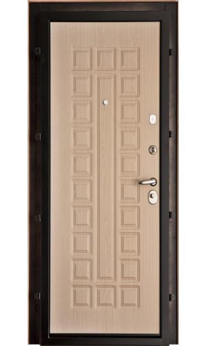 Панель для входной двери пвх Стандарт беленый дуб