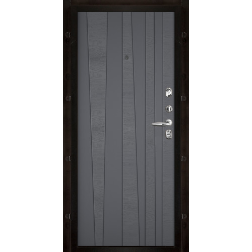Панель для входной двери шпон Trend grigio ral 7015