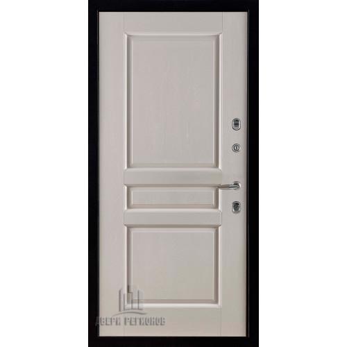 Панель для входной двери массив дуба Виктория слоновая кость