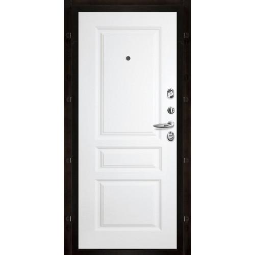 Панель для входной двери белая Турин эмаль