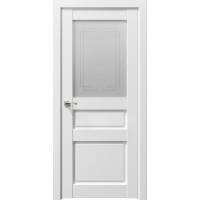 Дверь межкомнатная Сицилия 90002 Снежная королева стекло