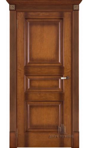 Дверь Терзо Светлый мед тон 5 межкомнатная глухая