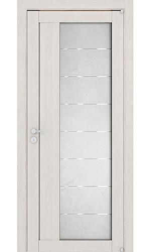 Двери межкомнатные экошпон Uberture Light 2112 цвет капучино велюр