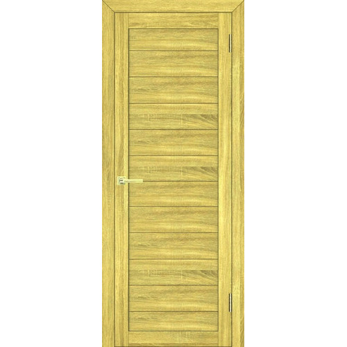 Дверь межкомнатная экошпон цвет дуб натуральный модель 03